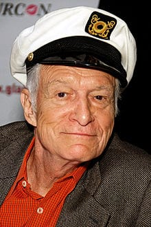 Playboy founder hugh hefner